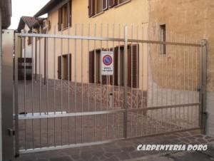 cancello inox